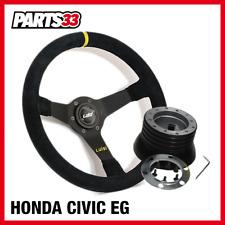 Slim Sportlenkrad Nabe Kompatibel mit Honda Civic S2000  CRV Accord Prelude