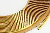 GOLD Zierleiste 6mm x 15m selbstklebend universal für Auto Goldleiste Kontur