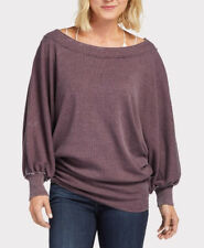Free People Femme Willow OB872331 Pull Décontracté Décadent Violet Taille XS