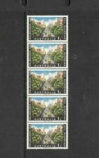 1956 Stamps Australia 1/- Olympic Strip of 5 Mint Never Hinged