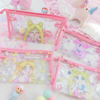 sailor moon melody PVC makeup bag zip handbag travel bathing bags cartoon new