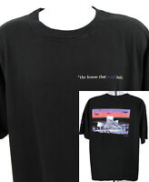 Vintage 90's Rock and Roll Hall of Fame T Shirt Size 2XL Black USA XXL
