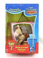 Rare 1999 Toy Story 2 Disney Hang Around Bullsyeye Marionette Woody'S Roundup!