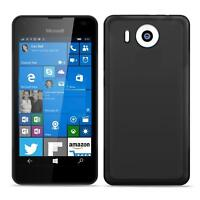 Microsoft Lumia 950 XL Shockproof Silicone Clear Case Thin Cover Ultra Slim Back