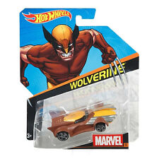 HOT WHEELS MARVEL personaggio AUTO SCALA 1:64 Die-cast veicolo: #33 Wolverine