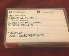 BRITTON - 3 Song Demo 1987 (RARE '80s AOR/Melodic Hair Metal!)