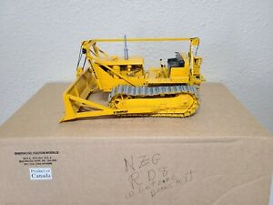 Cat RD8 Dozer LeTourneau Cable Blade and Winch - Sherwood Models 1:25 Scale New!