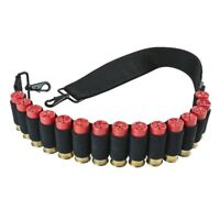 NcSTAR VISM AASHBANB Tactical 12 Gauge Shotgun Shell Bandolier 2 Point Sling