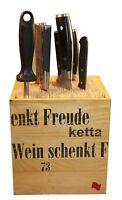 MESSERBLOCK +++NEUHEIT+++ ohne Messer, unbestückt, universal, für 1-20 Messer