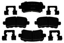 Disc Brake Pad Set-Ceramic Disc Brake Pad Rear ACDelco Pro Brakes 17D1430ACH