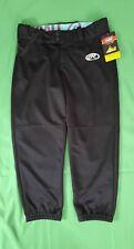 Brand New Rawlings Women's Softball Low Rise Black Pants Size M