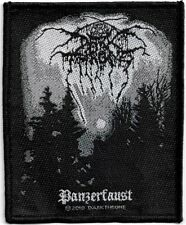 Official Merch Woven Sew-on PATCH Heavy Metal Rock DARK THRONE Panzerfaust
