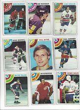 1978-79 Topps Hockey you pick 10 picks $2.00 NM to Mint