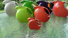 MINI DISK PITCHER creamer paprika NEW FIESTA  5 OZ.