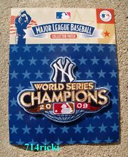 Official 2009 MLB World Series Champions Champs Patch NY New York Yankees