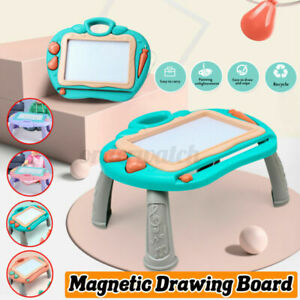 Kids Drawing Board Magnetic Writing Sketch Pad Erasable Graffiti Doodle Toy*