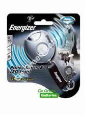 Energizer Panic Alarm & LED Light Torch Keyring Keychain 105db 633351