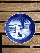 Royal Copenhagen Annual Christmas Plate, Year 1971, Hare in Winter