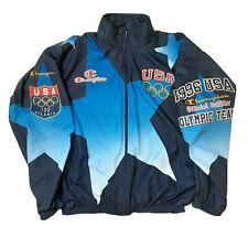 Vintage Champion 1996 USA Olympic Team Track Jacket Sz XL