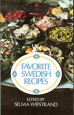 Favorite Swedish Recipes - edited by Selma Wifstrand, PB
