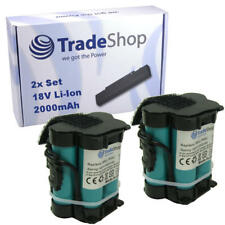 2x trade-shop bateria 18v 2000mah Li-ion para Husqvarna automower 105 305 308 308 X