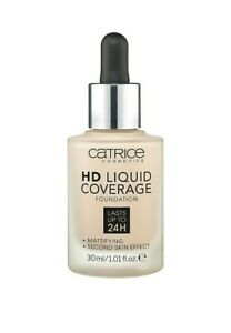 Catrice   HD Liquid Coverage Foundation   High & Natural Coverage   ALL SHADES