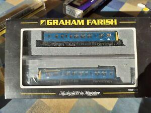 Graham Farish N gauge Class 108 DMU BR blue 2 car