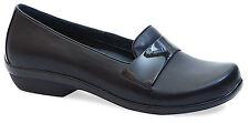 Dansko Oksana Black Nappa Flat, Women Size 37 (6.5-7) $145