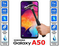 Genuine TEMPERED GLASS Screen Protector Ultra HD Cover For Samsung Galaxy A50