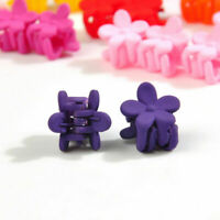 30 Colour Mini Baby Girls Kids Hair Hairpins Candy PCS Flower Claw Clamp Clips