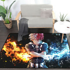 My Hero Academia Rectangle Floor Rug Carpet Room Doormat Non-slip Chair Mat New