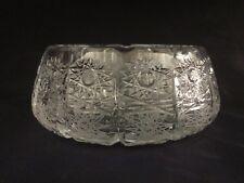 Czech bohemia crystal glass - Cut ashtray 18cm