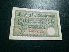GERMANY -  50 REICHSPFENNIG 1938-44 - BANKNOTES