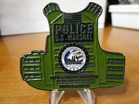 US Marshal Counterterroism Bureau NYPD Liason DIV JTTF CTD Police Challenge Coin