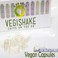 500 Empty Capsules Vegan Pullulan Size 0 High Grade Vegetarian *Multi-Save