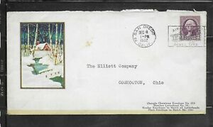 1932 The Elliot Company, Coshocton, OH Sample Christmas #035 Advertising Cover