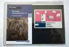 """Nederland PTT postzegelmapje 166 """"Natuurlijk landschapsbeheer (II)"""" 1997"""