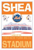 New York Mets Shea Stadium poster
