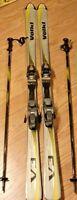 Volkl V3 Downhill Snow Skis - Marker M5.2 Binds - Germany w/ Master Excite Poles