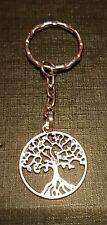 TREE OF LIFE KEYRING TIBETAN SILVER