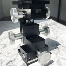 USED SIGMA KOKI XYZ 3 axis Position Linear Stage Platform ,stroke of 20mm