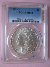 1902-O Morgan Silver Dollar - Graded by PCGS MS62