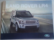 Land Rover LR4 range brochure 2011 UAE market English text