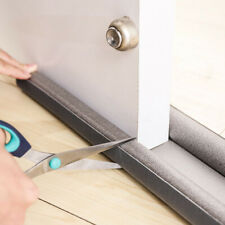 Double Side Under Door Foam Draught Excluder Twin Bottom Seal Cold Air Stopper