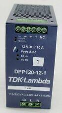 TDK-Lambda DPP120-12-1 Hutschienen-Netzteil DIN-Rail 12 VDC 10A 120W NEU