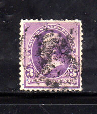 #221  3 CENT  JACKSON     FANCY CANCEL   USED     f