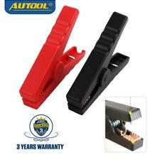 Batería Cable Conector de puente Cocodrilo Pinzas Booster 12/24V clips de batería de coche