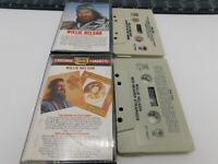 Lot of 2 Willie Nelson Cassettes Always on my Mind Red Headed Mind Audio Tape