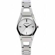 Citizen Quartz Analog EX0320-50A  Ladies Dress Watch Stainless Steel UK Seller