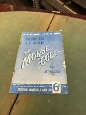 How To Learn The Morse Code